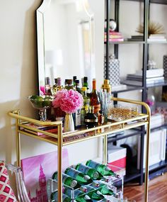 Fill your bar cart with everything you love!
