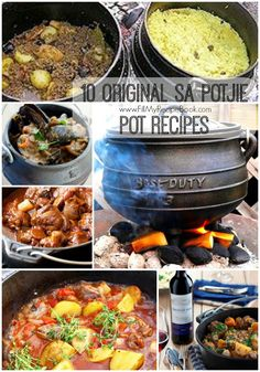 10 original sa potjie pot recipes that are so delishes and tasty and cook slowly on some coals. the potjie just gives it that wonderful authentic south african taste, I always say its a veggie fix. Yummy     Advertisement - Continue...