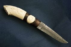Gallery - Category: Straight Knives - Image:  Like Scrolls