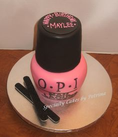 nail varnish cake - Google Search