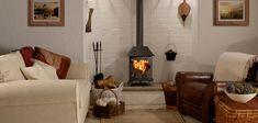 New Large Wood Burning Fireplace Log Burner Ideas Brick Wallpaper Living Room, Small Wood Burning Stove, Stove Installation, Simple Home Decoration, Stove Fireplace, Fireplace Mantles, Open Fireplace, Fireplace Remodel, Fireplace Ideas