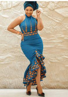 African Fashion Ankara, Latest African Fashion Dresses, African Dresses For Women, African Print Fashion, African Wear, African Attire, Fashion Prints, African Outfits, Latest African Styles