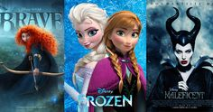 The Lens of Feminism: A Look at Motion Pictures Brave, Frozen and Maleficent Female Characters, Disney Characters, Frozen Theme, Maleficent, Filmmaking, Science Fiction, Brave, Fairy Tales, Lens