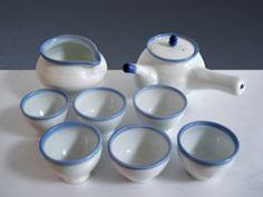 White porcelain tea set/Lim Jin-ho - ARTMUSEE::KOREAN ARTIST PLATFORM