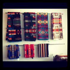 Pendleton blankets - which one will we curl up in next?  #CDNGetaway