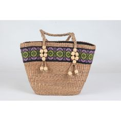 Cane and Thread Assam Beige Bamboo Cane Bag
