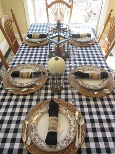 Calypso In The Country: Five Table Settings for Fall