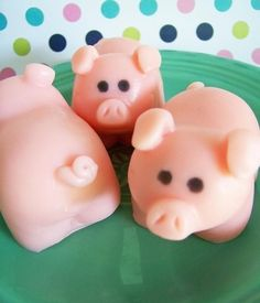 What better way to get clean, then with piggy soap!