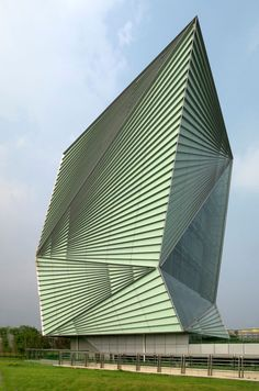 Centre for Sustainable Energy Technologies in China, designed by Mario Cucinella Architects