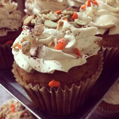 The Great Pumpkin Cupcake from H Bake Shop!