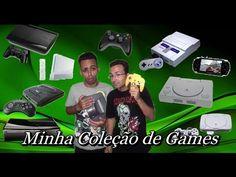 Vlog Minha Coleção de Consoles com a participação do Bruno Isus do canal...