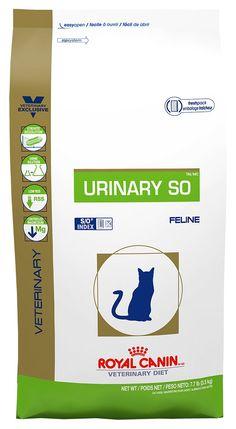 Royal Canin Veterinary Diet Urinary SO Dry Cat Food #cutecat - About cat at Catsincare.com!