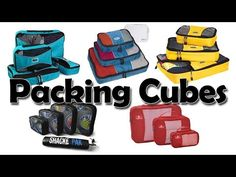 Best Travel Packing Cubes • Tapped Out Travellers