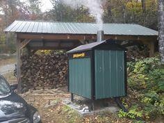 Far Better Farmstead: Outdoor Wood Furnace