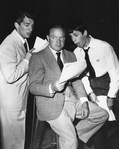 Bob, Dean Martin and Jerry Lewis