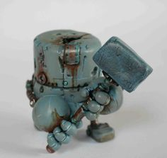 Rusty Robot Series 1 Hammerboy ONE DAY SALE by Spacecowsmith, £45.00