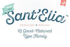 Love this font! Sant'Elia Script Intro Sale! (-72%) by Yellow Design Studio on Creative Market