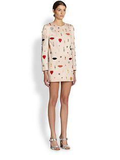 Stella McCartney - Match-Jeweled Shift Dress