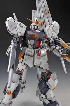 GSB 1/48 Nu Gundam: Modeled by KINGMAN0735. Photoreview Big Size Images