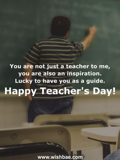 Appreciate your teacher's hard work and efforts by sharing these inspiring, motivational happy teacher's day wishes, quotes, mesages and images. Best Wishes For Teacher, Happy Teachers Day Wishes, Birthday Wishes For Teacher, Teachers Day Greetings, Teachers Day Card, Quotes On Teachers Day, Teacher Encouragement Quotes, Best Teacher Quotes, Teacher Appreciation Quotes
