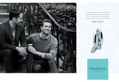 #Tiffany #Advert #Gay #Couple #Engagement #Rings