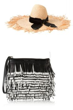 The chicest hat & bag combos to try this spring.