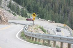 LEAN TO THE LEFT, LEAN TO THE RIGHT!!! HOLD OOOOONNNN!!!!--BACK SIDE OF BEARTOOTH MOUNTAIN