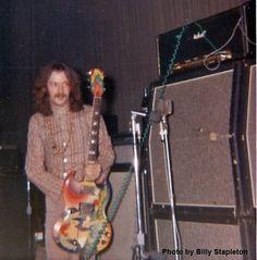 "Clapton with ""The Fool"" SG circa '67-'68"