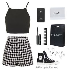 """If you're lost you can always be found..."" by sabrinacmiller ❤ liked on Polyvore featuring Topshop, Emma Cook, GHD, Converse, NARS Cosmetics, CO, Cartier and Incase"