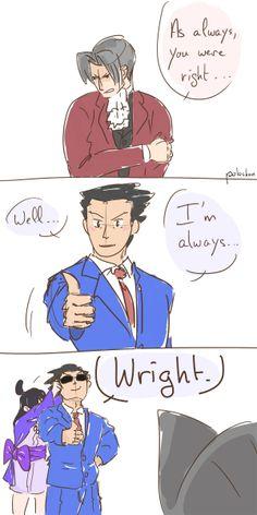 ace attorney comic | Tumblr