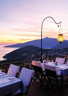 Kalkan, Turkey it's the most beautiful place in turkey I'm sure of it. If the distant dream of two holidays per year ever materialises this is May
