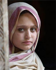 Kalash girl from the village of northern Pakistan
