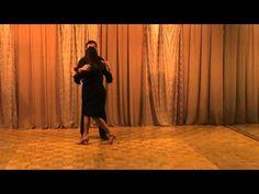 Beginner Argentine Tango Lesson: Mordida, El Sanguchito, The Sandwich, Bite - YouTube
