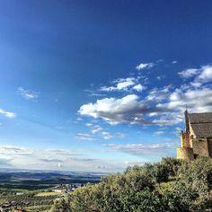 Vistas desde el mirador del castillo de #montilla. #felizdomingo