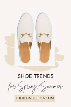 Shoe Trends for Spring/Summer - The Blondissima Sneakers To Work, Veja Sneakers, White Sneakers, Gucci Marmont Bag, Shoes Too Big, Studded Flats, Ballerina Flats, How To Look Classy, Buy Shoes