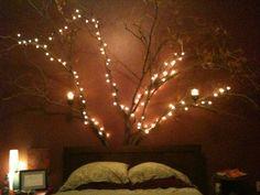 DIY bedroom tree I made.