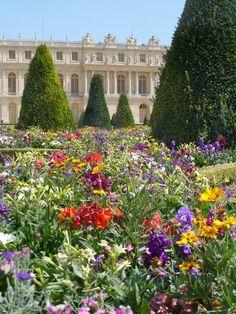 Gardens at Versailles, France