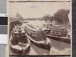 """Wool steamers """"Rodney"""" and barges , Echuca Wharf on the River Murray Murray River, Paddle Boat, Old Boats, Steamboats, Historical Photos, Vintage Images, Old Photos, Old Things, Steamers"""