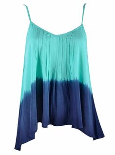 The back's even better...if you know me, I'm in love with two-tone tie-dye, LOVE this