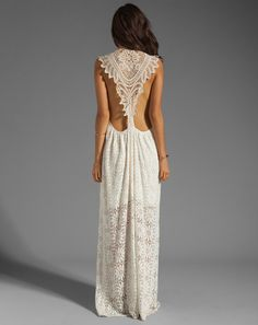 Jen's Pirate Booty Freedom Maxi Dress in Cream from Revolve Clothing