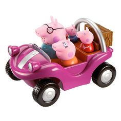 Peppa Pig buggy comes with 3 figures that are NOT removable. Buggy has sounds and music when it moves. Toy Cars For Kids, Toys For Girls, Kids Toys, Buy Toys, Toys R Us, Peppa Pig Car, My Little Pony Dolls, Disney Ornaments, Lol