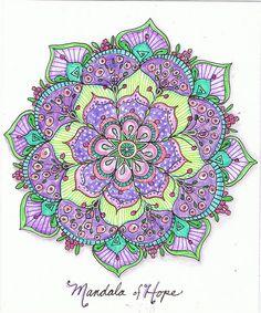 Mandala of hope | by Carolyn M C