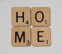 scrabble tile home coaster set coaster set family