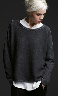 £255 Eileen Fisher http://www.eileenfisher.com/EileenFisher/looks/Looks_we_Love/View_All/tops/2.jsp