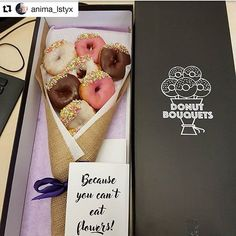 Happy anniversary @anima_lstyx ! We hope you loved your Donut Bouquet as much as we love this photo ❤️