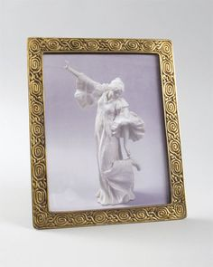 a tiffany studios new york gilt bronze zodiac picture frame circa 1900