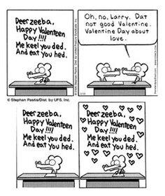 Love Pearls Before Swine. Happy Valentines Day