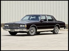 1989 Chevrolet Caprice Brougham Four Door Sedan