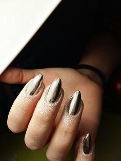 #metallic #nails