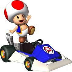 DUH! always and forever!!!  Which Mario Kart Character Should You Actually Play With  You got: Toad  You're an extremely underrated racer. You actually prefer to hang back for most of the race, because nothing's more satisfying than knocking the leader out with a red shell on the final stretch.